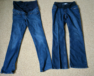 Maternity jeans medium and small