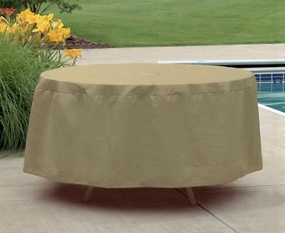 Table Patio Furniture Cover | Waterproof Outdoor Protection | Round 54