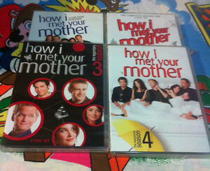 How I Met Your Mother Seasons 1-4 DVD