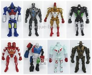 8x-Real-Steel-Zeus-TWIN-CITIES-Atom-Midas-Noisey-Boy-PVC-Action-Figure-Set-13cm