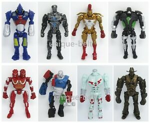 8x Real Steel Zeus TWIN CITIES Atom Midas Noisey Boy  PVC Action Figure Set 13cm