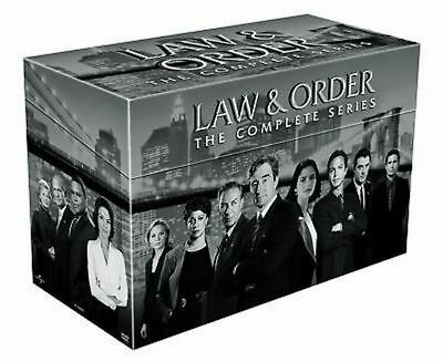 Law And Order  The Complete Series Seasons 1 20  Dvd 2011  104 Disc Box Set  New