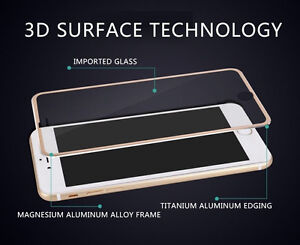 iPhone 7 Plus Full Coverage Premium Tempered Glass Rose Gold