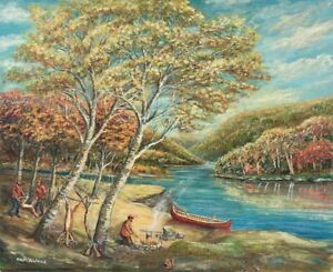 Ralph Boutilier Oil Painting