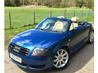 Audi TT Convertible Quattro **1Lady Owner Last 9Years,Stunning!**