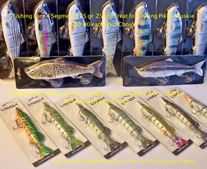Fishing Lure, Pike and Muskie $15.00 & $20.00 each