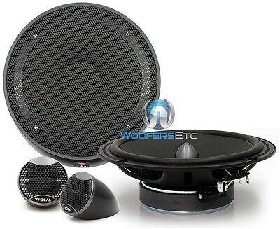 "OPEN BOX FOCAL IS-165 6.5"" 140W RMS 2-WAY INTEGRATION COMPONENT SPEAKERS"