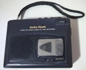 Radio Shack Voice - Actuated Cassette Tape Recorder Ctr-96