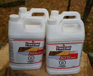 Thompson's Waterseal Heavy Duty Deck Cleaner Brand New 3.78L