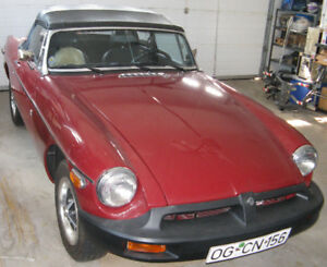 1976 MGB Roadster Convertible (Restored)