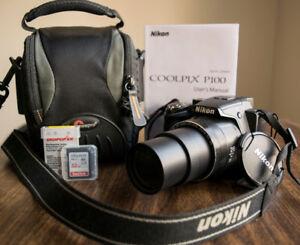 Nikon P100 Complete Camera Kit