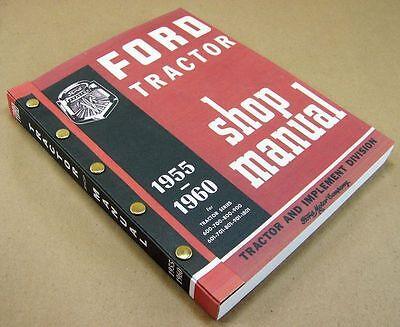 Ford 600 900 601 1801 Tractor Service Repair Shop Manual Gas Diesel