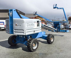 07 Genie S40 Straight Man Lift - (Similar to the JLG 400s)
