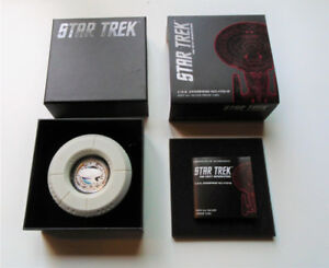 Star Trek Next Generation silver coin set