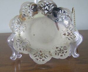 Vintage Silverplate Dish