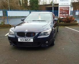 BMW 535 M Sport 2005 3.0 Diesel Auto In Black