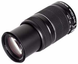 Objectif Canon 55-250mm f4/5.6
