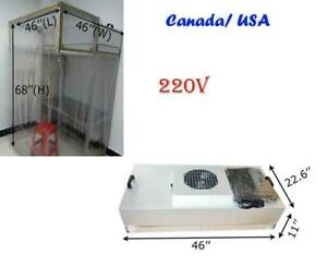 Dust Free Room, Clean Room, for Phone LCD Screen Refurbishment Air Shower, FFU Fan Filter Unit(020039)