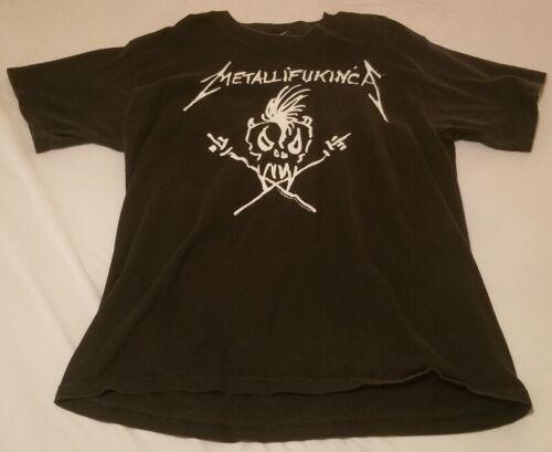 Metallica Metallifukinca Vintage 1994 XL Tour T-Shirt