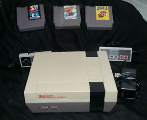 Awesome Original Nintendo NES with Super Mario Bros. 1, 2 & 3!