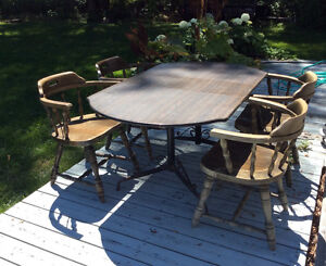 ALMOST FREE! -  Dining Table and four chairs!