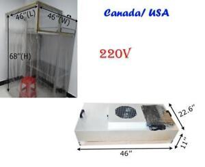 Dust Free Room, Clean Room, for Phone LCD Screen Refurbishment Air Shower, FFU Fan Filter Unit(020039)