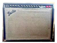 1983 Fender Twin Reverb II Vintage Combo Guitar Amp - Price £899 ONO