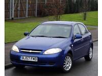 2007 Chevrolet Lacetti 1.6 1598cc SX 5 Doors, 47k Low Mileage, Blue