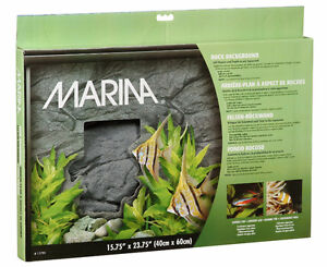 3D AQUARIUM BACKGROUND - STYROFOAM ROCK DESIGN