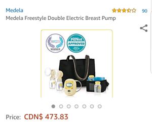 Madela freestyle double electric breast pump