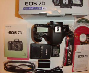 Canon EOS 7D 18.0MP Digital Camera (Body Only). 16,700 Sht/Cnt
