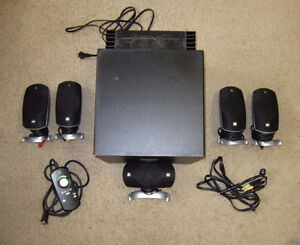 Logitech Z-5300 Surround Sound Speakers, Great Condition