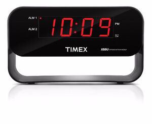 NEW: Timex Dual Alarm Clock with USB Charging and Night light