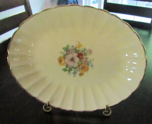 Beautiful Antique Platter on stand