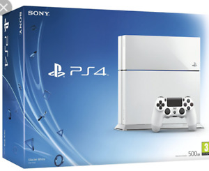 PS4 White Edition 500G With Seagate 1Tb Extendal Harddrive