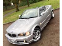 BMW 325 2.5Ci SE Convertible**1Lady Owner Last 13 Years,Low Miles,Immaculate!**