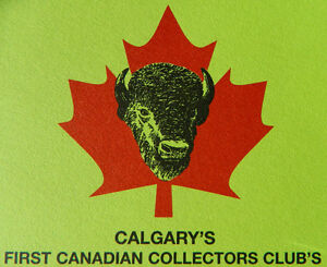 FIRST CANADIAN COLLECTOR'S  CLUB  ANNUAL FALL SALE