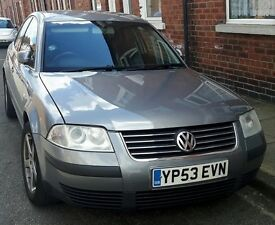 YORK VW Passat 1.9 TDI NEW TIRES NEW BATTERY MOT 11/2017