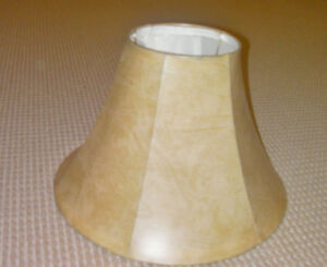 I have 2 lamp shades for sale ($5.00 for both).