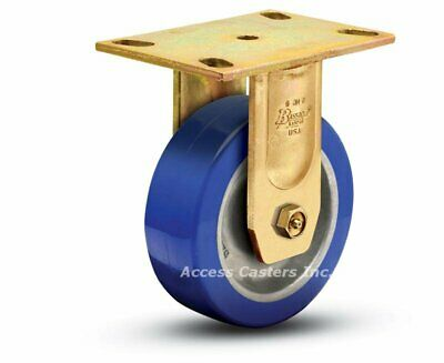 5or3p-7 5 Bassick Honcho Or Rigid Caster Poly On Aluminum 1500 Lbs Capacity