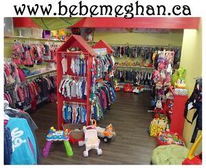 www.bebemgehan.ca - Friperie en ligne pour enfants 0 à 14 ans