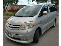 Fresh Import Toyota Alphard Estima 8 seater MPV 2.4 Hybrid Electric/Petrol