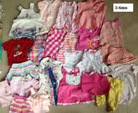Girls 3-6 month Lots