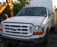 2000 FORD F450 XL Service Truck 4x4, diesel, heavy duty