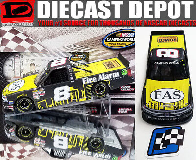 JOHN HUNTER NEMECHEK 2017 IOWA WIN RACED VERSION FIRE ALARM SERVICES 1/24 ACTION