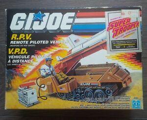 GI Joe vintage R.P.V 100% complete with box