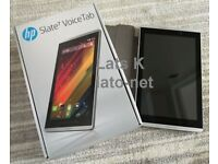 HP Slate 7 Voicetab silver, very good condition, wi-fi and sim card sl