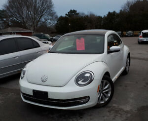2015 VOLKSWAGEN NEW BEETLE TURBO - DIESEL, DSG TRANSMITION