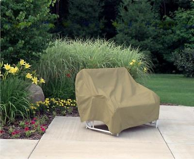 Glider Sofa Patio Furniture Cover | Waterproof Outdoor Protection | Two-Seat - Glider Outdoor Sofa