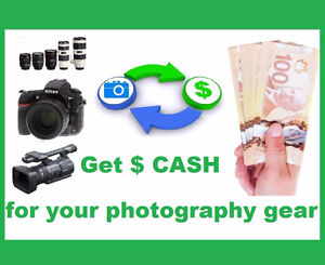 We are Buying all Nikon Canon Sony DSLR camera lens camcorders